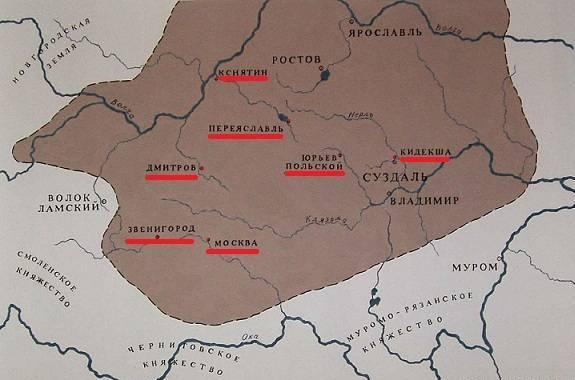 Городец Мещёрский (1152 г.